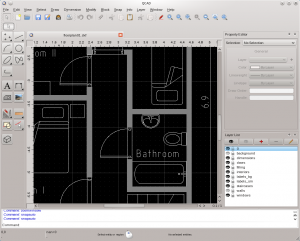Thumbnail for the post titled: QCAD – 2D Windowsra, Linuxra és Macre