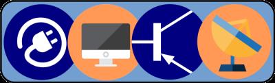 Logo for Elektrotechnika és elektronika - informatika és távközlés munkaközösség